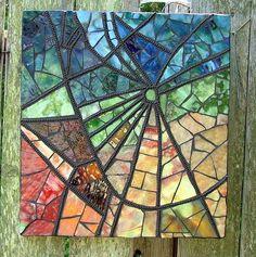Mosaic spider's web