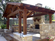 Fresh outdoor kitchen ideas for decks on this favorite site Outside Living, Outdoor Living Areas, Outdoor Rooms, Indoor Outdoor, Outdoor Lounge, Outdoor Dining, Living Spaces, Outdoor Kitchen Design, Patio Design