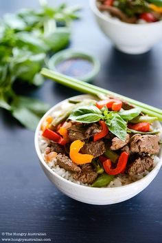 Beef Stir Fry from @Christina Soong (The Hungry Australian)