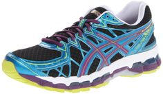 ASICS Women's Gel Kayano 20 Running Shoe,Black/Plum/Blue,5 M US http://cheapkidsshoes.ml/