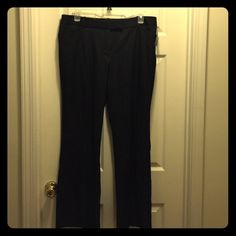 George Polished Denim Ladies Trouser Pants 16 Size 16 George Modern Fit NWT very dark wash polished denim trouser pants. Lying flat, measures 19.5 inches across the waist and has a 32 inch inseam. Perfect for work or dressing up!  Very lightweight! George Pants Trousers