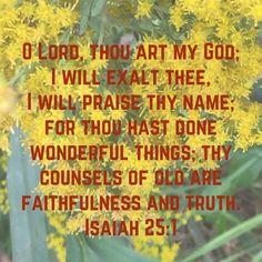 King James Bible Verses, Biblical Verses, Scripture Verses, Bible Scriptures, Isaiah 25, Book Of Isaiah, Faith Quotes, Bible Quotes, Uplifting Quotes