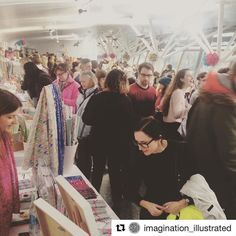 Thanks for the lovely photo @imagination_illustrated  we're here until 5 #urbanmakerseast #shoplocal #eastlondon