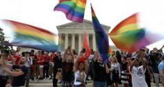 Perayaan dilegalkannya pernikahan sesama jenis di Amerika Serikat.