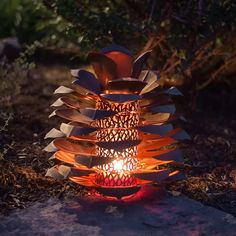 Look at this Desert Steel Pinecone Indoor/Outdoor Luminary by Desert Steel