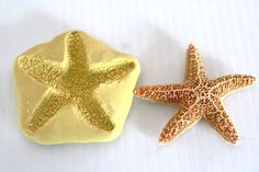 Silicone 3 Starfish Mold For Cake Decorating Polymer Clay Resin Soap Mould Fondant