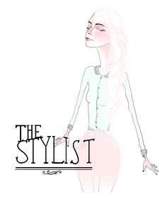The Stylist fashion illustration