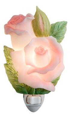 Rose Bud Night Light   Ibis U0026 Orchid Flowers Of Light Collection Ibis U0026  Orchid Design