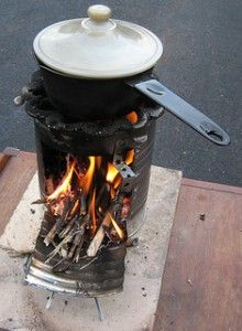 Have you ever wanted to learn how to survive with a Rocket Stove? #prepper #wildernesssurvival