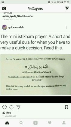 Dua when making on-the-spot decisions Hadith Quotes, Muslim Quotes, Religious Quotes, Duaa Islam, Islam Hadith, Quran Quotes Inspirational, Beautiful Islamic Quotes, Islamic Teachings, Islamic Dua