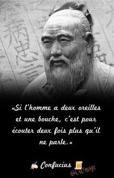 Poem Quotes - Fushion News Confucius Citation, Confucius Quotes, Quote Citation, French Quotes, Positive Attitude, Motivation, Famous Quotes, Mantra, Proverbs