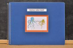 Personalized Baby Book LGBT Adoptive Single by LoveLeafBooks Nautical Theme! facebook.com/loveleafkids