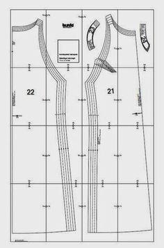 Aquí tenemos otro patrón gratuito de Burda.Un vestido recto y sin mangas, que destaca por su corte sencillo y elegante.Confección fácil.