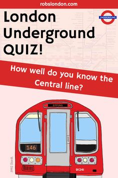 Ten questions on the Central line. featuring an American author, pop and a classic kid's show. Central Line, London Transport, London Underground, Kids Shows, Quizzes, Jukebox, Trivia, Did You Know, Physics