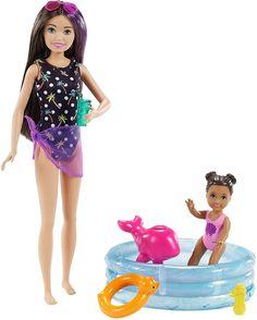 Mattel Barbie, Barbie Kids, Baby Barbie, Barbie Dolls Diy, Barbie And Ken, Diy Doll, Barbie Stuff, Muñeca Baby Alive, Barbie Chelsea Doll
