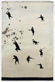 Artist page for Norbert Schwontkowski - art, artworks, exhibitions Floral Illustrations, Illustrations And Posters, Illustration Art, Autumn Art, Art Forms, Online Art, Sculpting, Graffiti, Bird