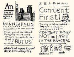 AEA Minneapolis Sketchnotes: Jeffrey Zeldman - 01-02 by Mike Rohde, via Flickr