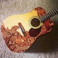 guitarra con sharpie - Buscar con Google