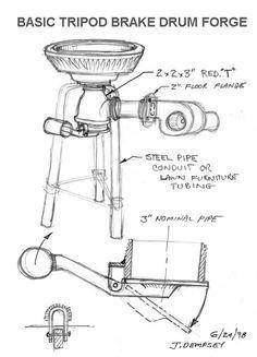 brake drum forge diagram