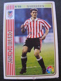 Cromo Guerrero Athletic de Bilbao las fichas de la liga 94 / 95 numero 86