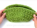 "Summer Baskets - Crochet DROPS basket with star pattern in ""Paris"". - Free pattern by DROPS Design"