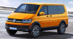 X-Tomi has released renderings based on the VW Tristar concept that show how the next-generation Transporter T6 may look.