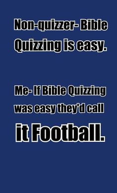 Bible quizzing