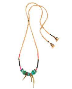 Gold Amulet Necklace I | Lizzie Fortunato
