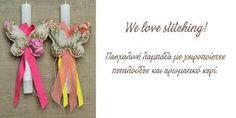 Αποτέλεσμα εικόνας για πασχαλινες λαμπαδες χειροποιητες Love, Outdoor Decor, Amor