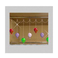 Festive+Balloons.....+Shower+Curtain+Bling+by+ShowerCurtainBling