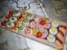 Nie len silvestrovske chutovky | Mimibazar.sk Feta, Sushi, Ethnic Recipes, New Years Eve, Sushi Rolls
