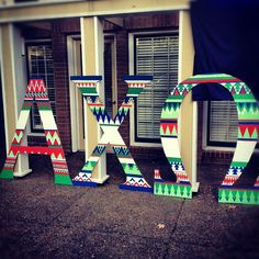 tribal letters!