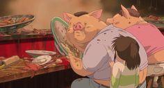 Initial release: July 2001 (Japan) Director: Hayao Miyazaki Featured song: Always With Me Production companies: Studio Ghibli, Dentsu Inc. Spirited Away Meaning, Spirited Away Pigs, Miyazaki Spirited Away, Hayao Miyazaki, Miyu Irino, Studio Ghibli Films, In Soviet Russia, Movie Blog, Bored Panda