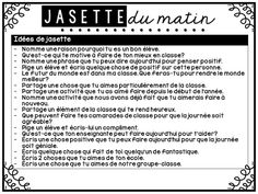 Bonjour!   Aujourd'hui, je vous partage ce que j'aimerais intégrer de nouveau dans ma classe cette année. Le nouveau matériel présenté au... Teaching Activities, Teaching Resources, Teaching Ideas, Communication Orale, French Conversation, High School French, School Organisation, School Goals, Classroom Routines