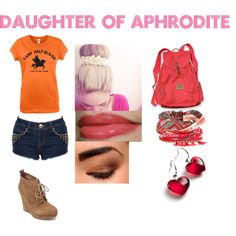 Designer Clothes, Shoes & Bags for Women Percy Jackson Leo, Percy Jackson Outfits, Percy Jackson Quotes, Disney Outfits, Girly Outfits, Themed Outfits, Inspired Outfits, Aphrodite Goddess, Daughter Of Poseidon