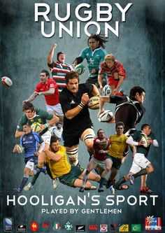 Hooligans Sport Played By Gentlemen. Rugby League, Rugby Players, Rugby Wallpaper, Rugby Rules, Rugby Poster, France Rugby, International Rugby, Welsh Rugby, All Blacks Rugby