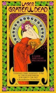 Grateful Dead - Bob Masse is from Canada's west coast and has been producing concert posters since the 1960's.