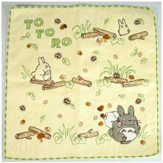 I found 'Totoro Embroiled Mini Towel/Handkerchief -- Path' on Wish, check it out!