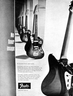 No Finer Image Fender Ad