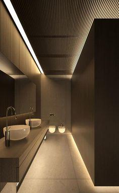 Innenarchitekturplatten hölzerne Badezimmerschwarzideen