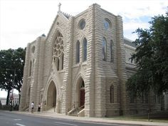 Texas | St. Patrick's Catholic Cathedral in Fort Worth, TX - From your Trinity Stores crew.
