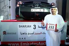 "Man pays almost $5 million for ""1"" license plate"