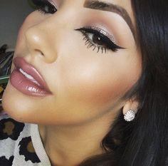 makeup Flawless Makeup, Gorgeous Makeup, Love Makeup, Makeup Inspo, Makeup Inspiration, Kiss Makeup, Makeup Art, Hair Makeup, Makeup Eyeshadow