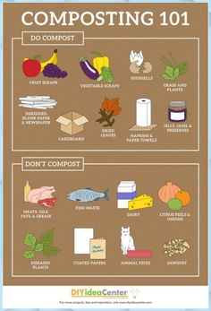 How to Compost at Home & Learn what can (and can& be composted with this h& How to Compost at Home & Learn what can (and can& be composted with this handy guide! The post How to Compost at Home Home Vegetable Garden, Herb Garden, Raised Vegetable Gardens, Vegetable Garden Planning, Vegetable Garden Design, Indoor Garden, Permaculture, Gardening For Beginners, Gardening Tips