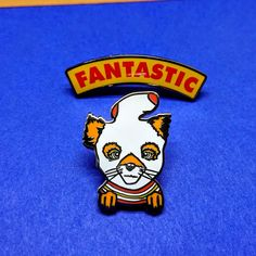 Fantastic Pin Set, Fox Enamel Pin, Lapel Pin, Wes Anderson, Movie Pins, Bob Pins, Best Friends, Custom Pin, Pin Badge, Pins And Patches
