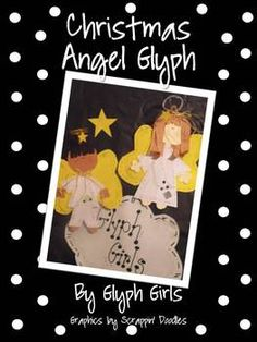 Your little angels can make their own Christmas Angel with this glyph from Glyph Girls! Students answer simple questions on a survey and then use the data to determine the details on their angel. The survey, glyph key, and patterns are all included. This makes a precious December bulletin board!