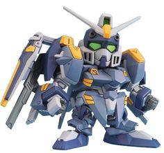 Amazon.com: Gundam SD-295 Blue Duel Gundam - BB Gundam Seed C.E. 73 Model Kit (Japanese Import): Toys & Games