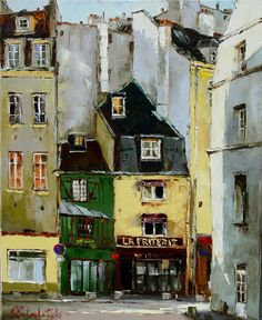 Paris 80x65 oil on canvas 2002