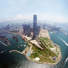 West Kowloon Cultural District Authority + International Commerce Centre (ICC), Kohn Pedersen Fox (KPF)