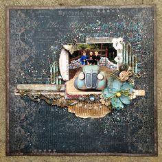 Scraps Of Brilliance: Blue Fern Studios January Challenge